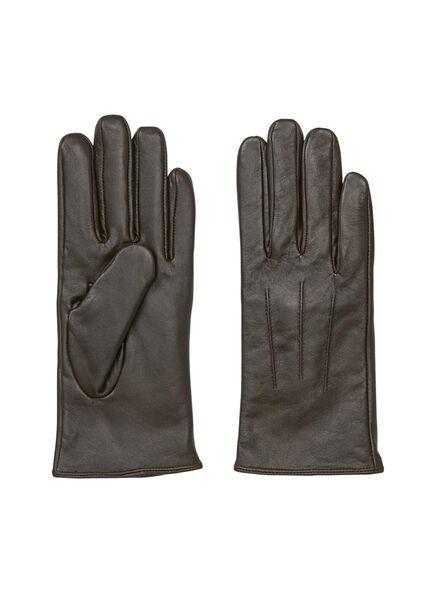 gants femme marron marron - 1000009307 - HEMA