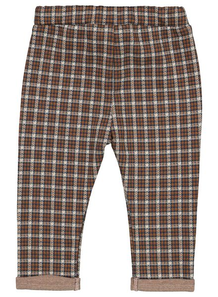 baby trousers chequered yellow - 1000017392 - hema