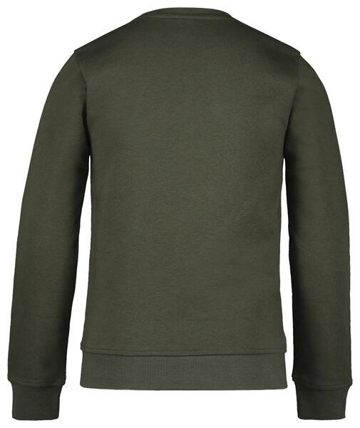 kindersweater legergroen legergroen - 1000020260 - HEMA