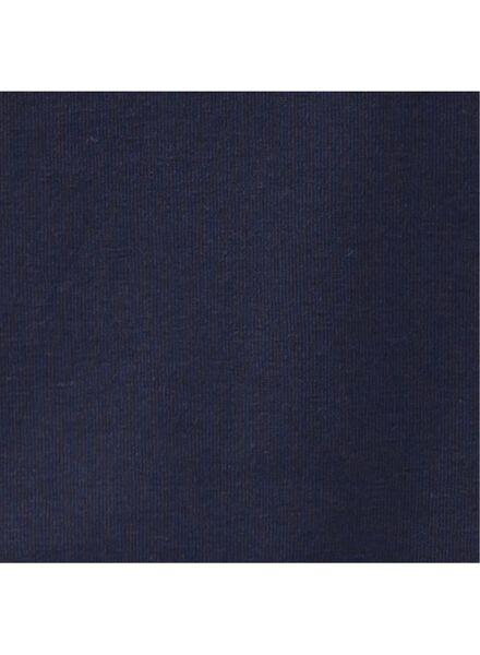 children´s T-shirt - organic cotton dark blue dark blue - 1000019371 - hema