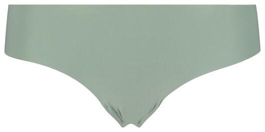 slip brésilien femme en micro vert vert - 1000018313 - HEMA