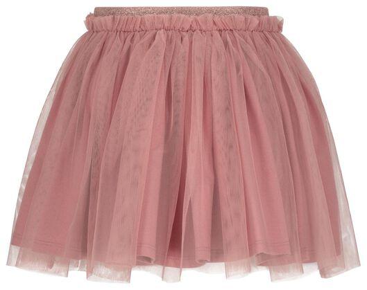 kinderrok met tule roze roze - 1000020295 - HEMA