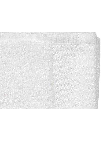 petite serviette - 33x50 cm - bambou - blanc - 5200130 - HEMA