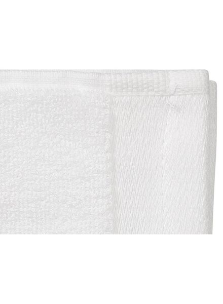 guest towel - 33 x 50 cm - bamboo - white white guest towel - 5200130 - hema