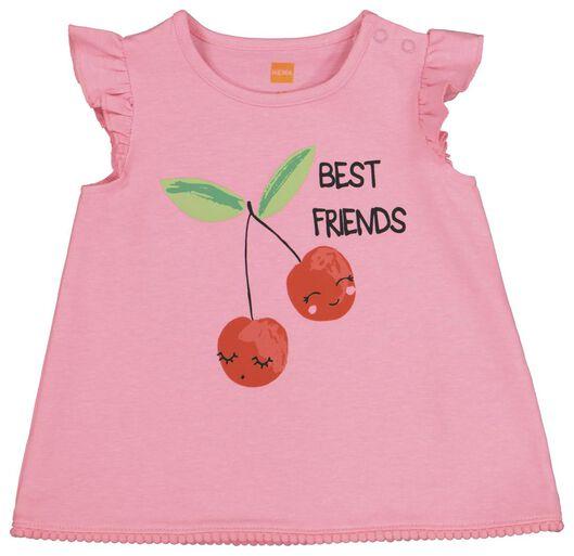 baby T-shirt and shorts pink pink - 1000019190 - hema