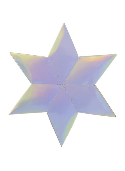 voeu de Noël étoile avec jeu - 25250032 - HEMA