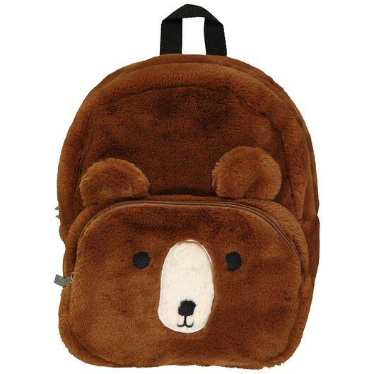 sac à dos ours peluche - 32x26x8 - 18402700 - HEMA