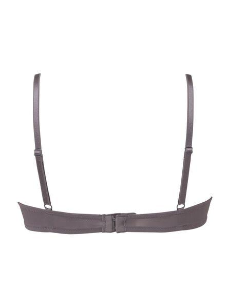 2 soutiens-gorge t-shirt paddés A-D gris gris - 1000002475 - HEMA