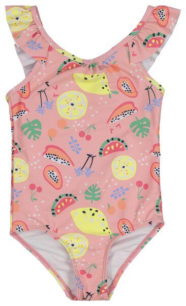 children's swimsuit light pink light pink - 1000018814 - hema