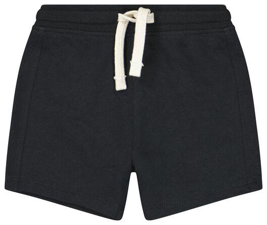 short sweat bébé noir noir - 1000023556 - HEMA