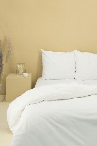 Bettwäsche, Soft Cotton, einfarbig weiß weiß - 1000014129 - HEMA