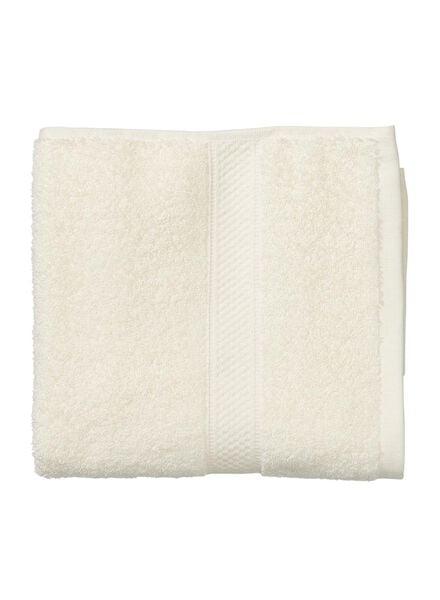 serviette de bain-50x100 cm-qualité épaisse-écru uni écru serviette 50 x 100 - 5262601 - HEMA