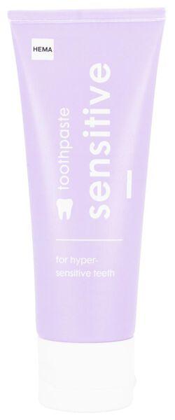 toothpaste sensitive 75 ml - 11130023 - hema