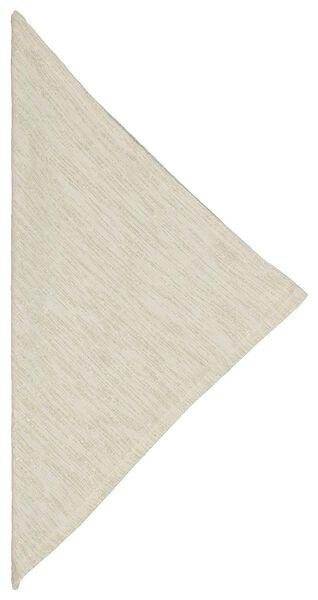 2 serviettes 47x47 chambray cotton - gold - 5300090 - hema