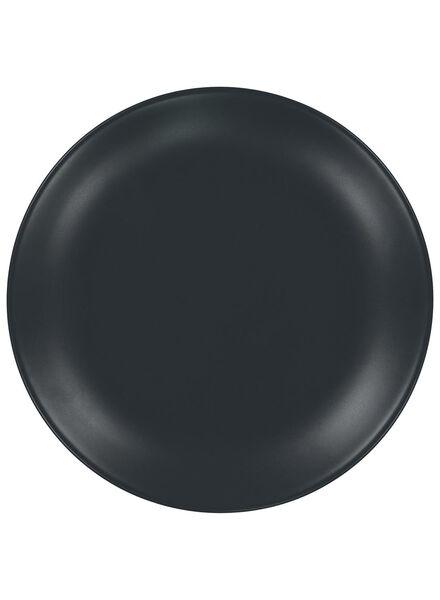 dinner plate 26 cm - Amsterdam - matt grey - 9602005 - hema