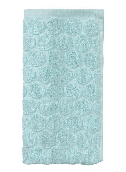 guest towel - 30 x 55 cm - heavy quality - light green dot mint green guest towel - 5200056 - hema
