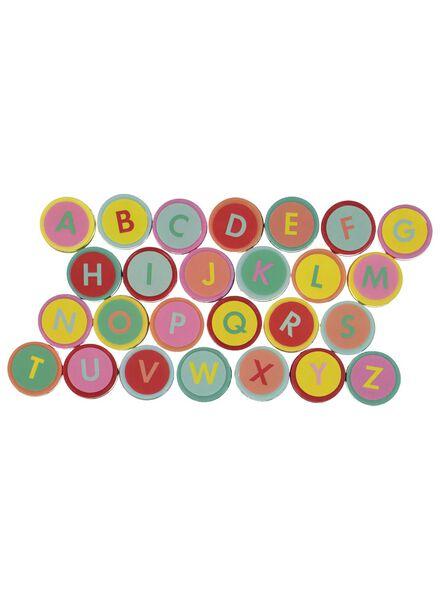 stempelset letters - 26 stuks - 15950033 - HEMA