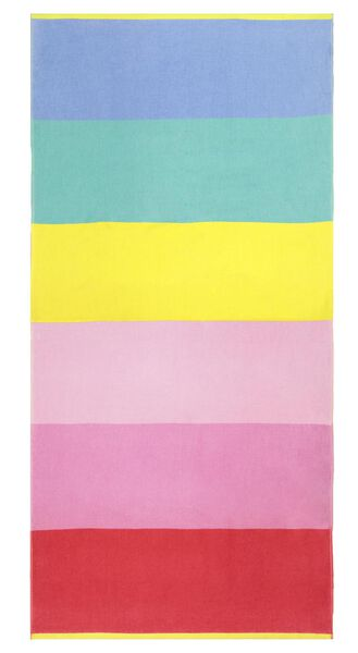 beach towel velvet 90x180 rainbow - 5290034 - hema