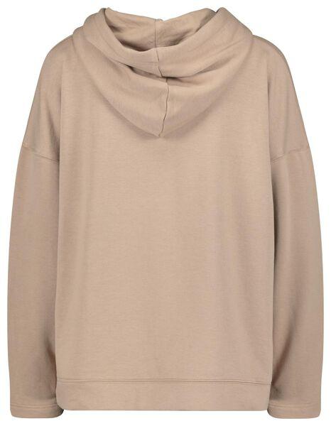 women's hooded sweater pink pink - 1000022535 - hema