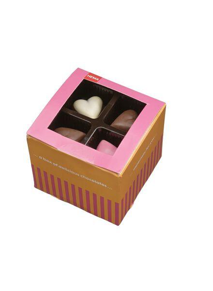 cœurs en chocolat fourré - 10330114 - HEMA