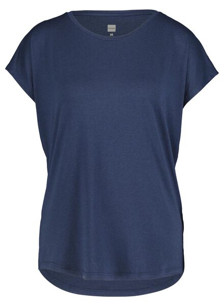 women's sports shirt blue blue - 1000017333 - hema