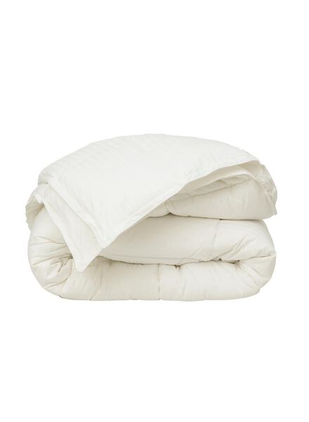 4-season duvet - synthetic luxury - 200 x 220 cm white 200 x 220 - 5500043 - hema