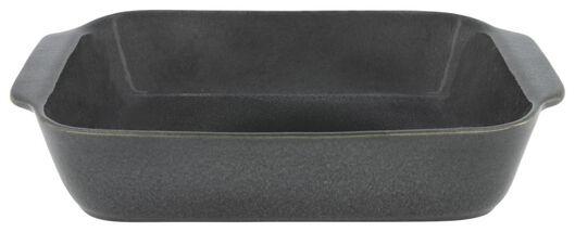 Auflaufform, 25 x 36 x 7 cm, reaktive Glasur, grau - 80140006 - HEMA
