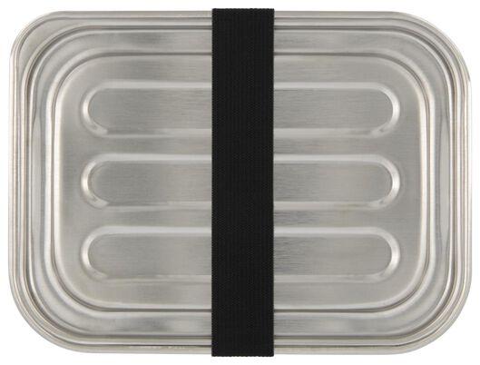 Brotdose, Edelstahl - 80640019 - HEMA