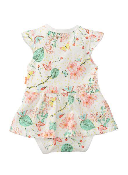 baby bodysuit dress white white - 1000007682 - hema