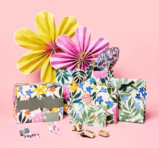 2er-Pack Papierfächer-Blumen - 14200450 - HEMA
