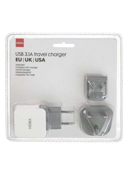 chargeur de voyage USB - 39630072 - HEMA