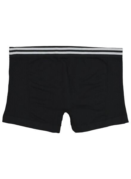 teen boxers - seamless black black - 1000017356 - hema