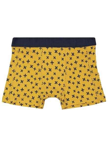 3er-Pack Kinder-Boxershorts dunkelblau dunkelblau - 1000017322 - HEMA