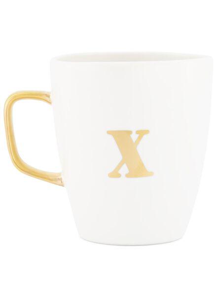 mug A à Z blanc blanc - 1000017045 - HEMA