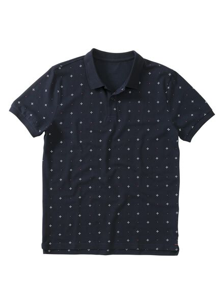 men's polo shirt dark blue dark blue - 1000006122 - hema