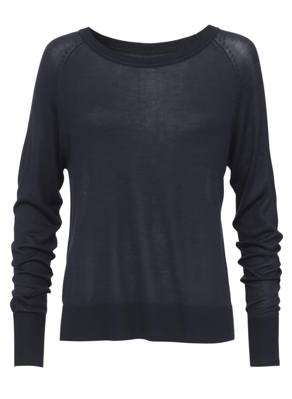 Damen Pullover dunkelblau