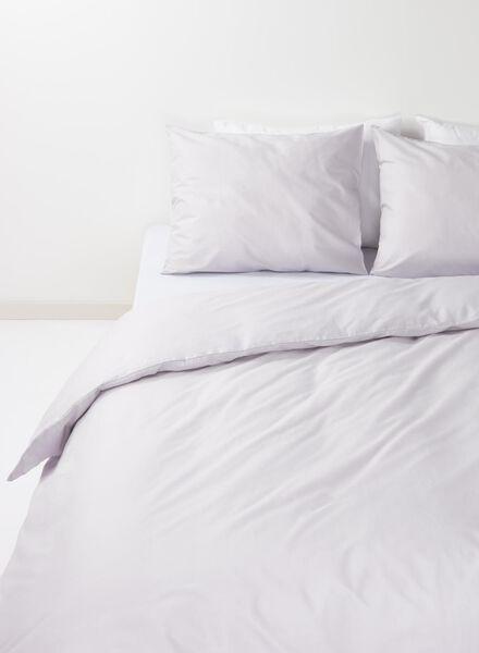 duvet cover - soft cotton - uni light grey light grey - 1000014137 - hema