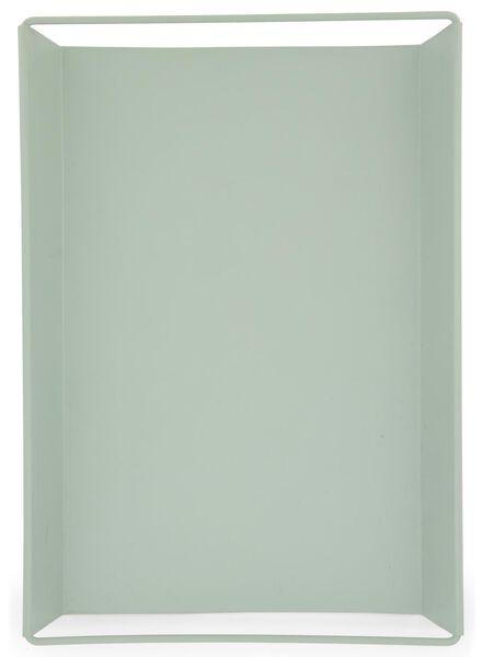 plateau à bougies 22 x 31,5 x 3 - vert clair - 13392001 - HEMA