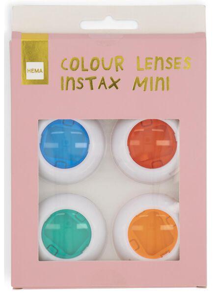 4er-Pack Farblinsen für Instax Mini - 60300524 - HEMA