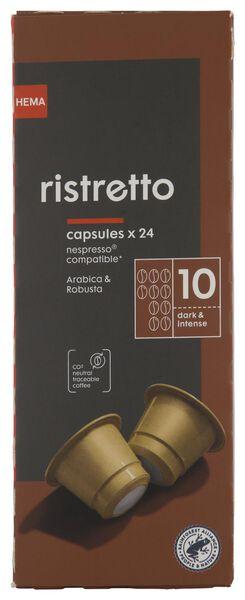 24er-Pack Kaffeekapseln, Ristretto - 17180008 - HEMA