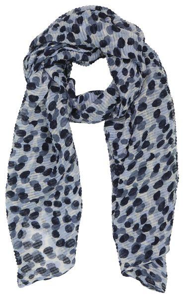 écharpe femme 200x80 froissé tacheté - 1780040 - HEMA