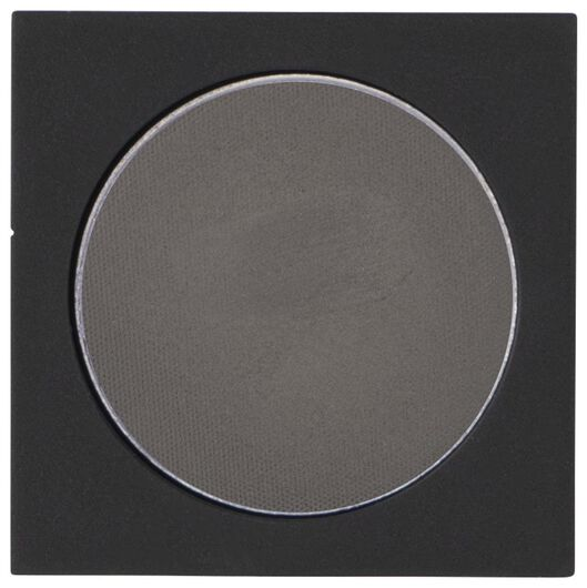 ombre à paupières mono mat 04 gorgeous grey gris recharge - 11210304 - HEMA