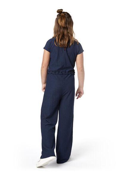 Kinder-Jumpsuit dunkelblau dunkelblau - 1000019043 - HEMA