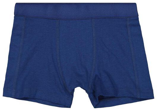 3er-Pack Kinder-Boxershorts blau 146/152 - 19210435 - HEMA