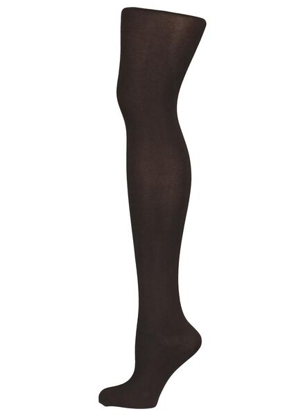 cotton tights 100 denier brown brown - 1000016528 - hema