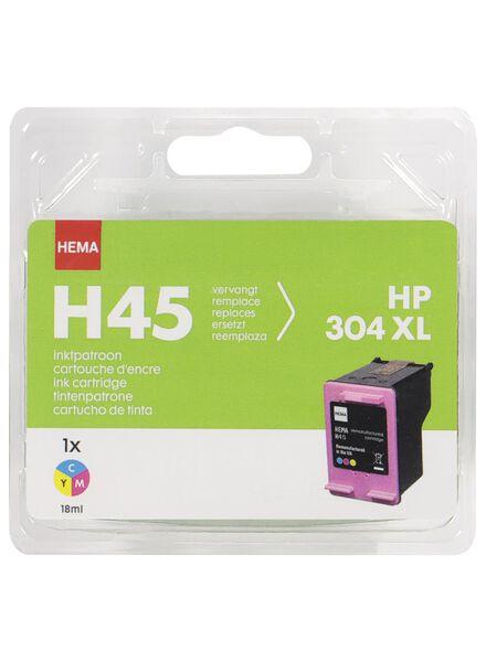HEMA Druckerpatrone H45 (Farbe) als Ersatz für HP 304XL - 38399225 - HEMA