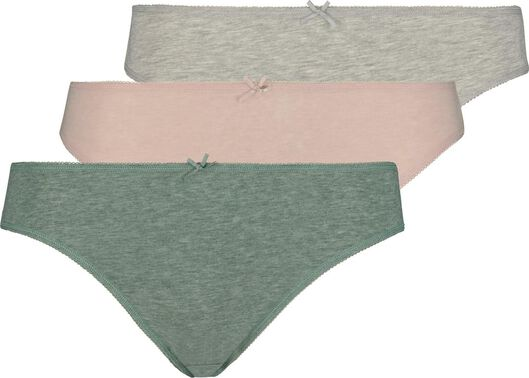 3-pack women's briefs multi multi - 1000018555 - hema