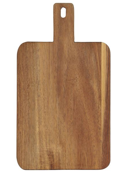 wooden snack board 32x18x2 - 80810331 - hema