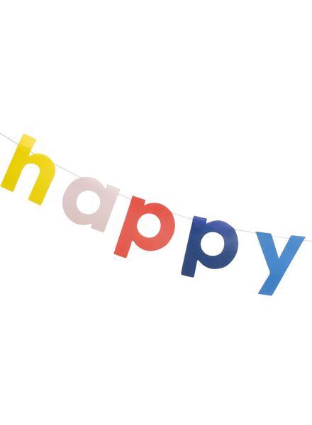 happy birthday streamer 1.5 metres - 14230105 - hema