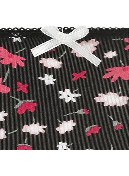 women's thong black black - 1000007670 - hema